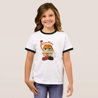 Flan Man Ringer T-Shirt