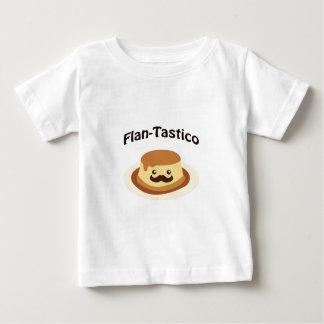 Flan-Tastico! Cute Flan Baby T-Shirt