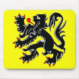 Flanders Flag Mouse Pad