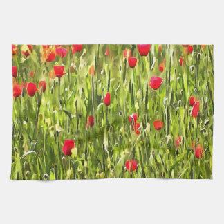 Flanders Poppies Kitchen Towel