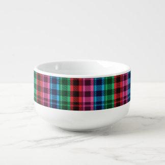 Flannel Pattern Soup Mug