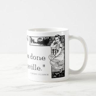 "Flannery O'Connor ""When In Rome"" Mug"