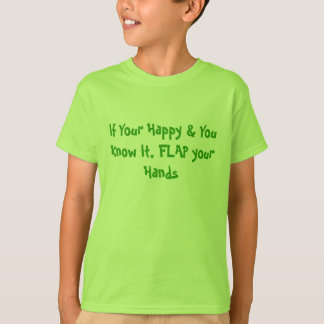 Flap your Hands - Autism Diversity T-Shirt