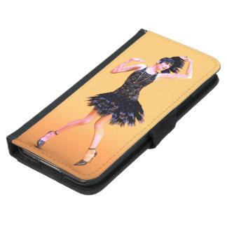 flapper16_orange_pod samsung galaxy s5 wallet case