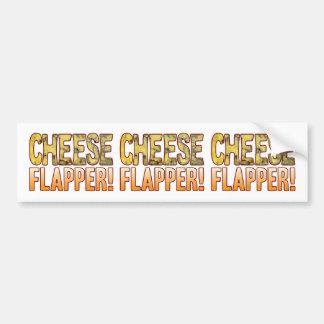 Flapper Blue Cheese Bumper Sticker