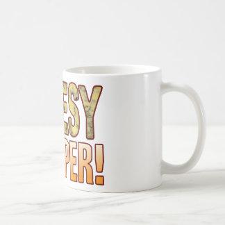 Flapper Blue Cheesy Coffee Mug