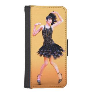 Flapper Dancing iPhone SE/5/5s Wallet Case