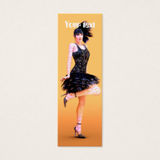 Flapper Dancing Mini Business Card