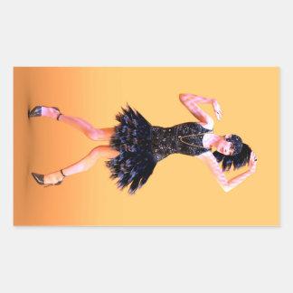 Flapper Dancing Sticker