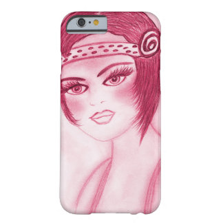 Flapper Girl In Red Barely There iPhone 6 Case