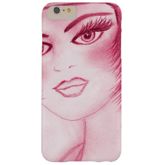 Flapper Girl In Red Barely There iPhone 6 Plus Case