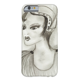 Flapper in Feathers Barely There iPhone 6 Case