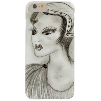Flapper in Feathers Barely There iPhone 6 Plus Case
