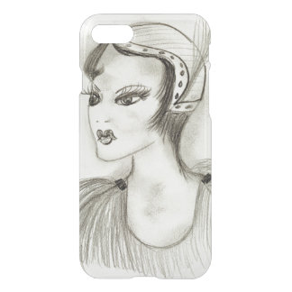 Flapper in Feathers iPhone 8/7 Case