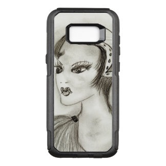 Flapper in Feathers OtterBox Commuter Samsung Galaxy S8+ Case