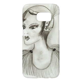 Flapper in Feathers Samsung Galaxy S7 Case