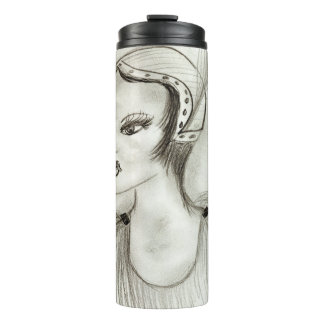 Flapper in Feathers Thermal Tumbler