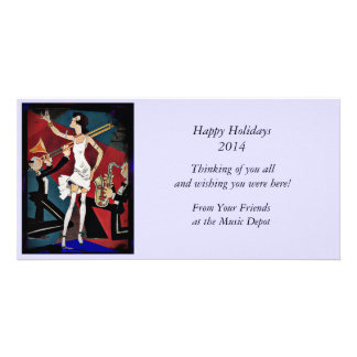 Flapper with a Jazz Band Photo Cards