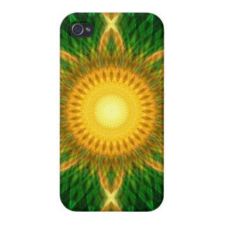 Flare Star Mandala iPhone 4 Case