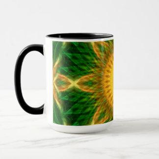 Flare Star Mandala Mug