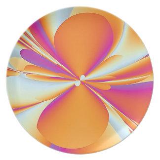 Flarium Flare Melamine Plate