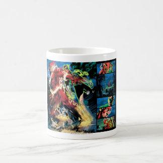 Flash and Green Lantern Panel Coffee Mug