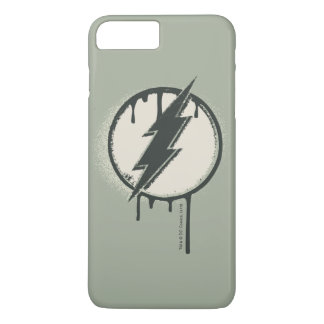 Flash Bolt Paint Grunge iPhone 7 Plus Case