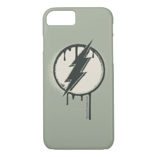 Flash Bolt Paint Grunge iPhone 8/7 Case
