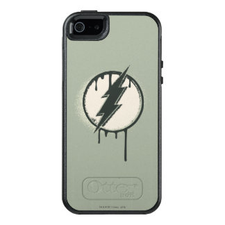 Flash Bolt Paint Grunge OtterBox iPhone 5/5s/SE Case