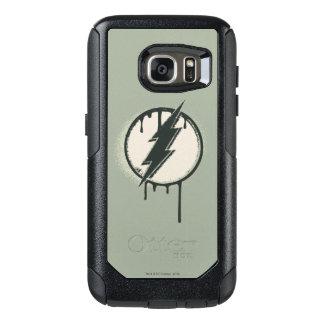 Flash Bolt Paint Grunge OtterBox Samsung Galaxy S7 Case