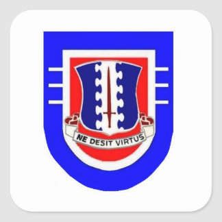 Flash DUI 3RD Bn 187TH INFANTRY Stickers