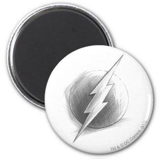 Flash Insignia 2 Inch Round Magnet