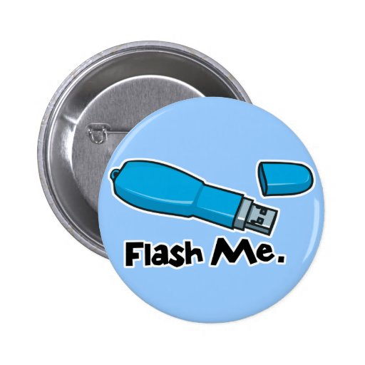 flash me flash drive design pin