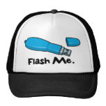 flash me flash drive design hats