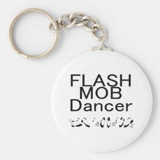 Flash Mob Dancer Dancing Feet Keychain