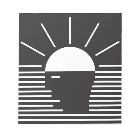 flash of bright  idea notepad