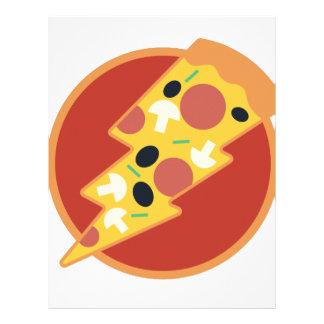 Flash Pizza Letterhead