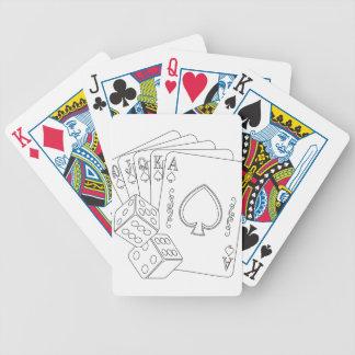 flash royal bicycle playing cards