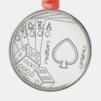 flash royal metal ornament
