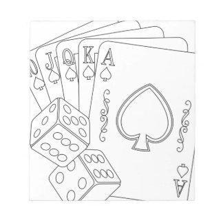 flash royal notepad
