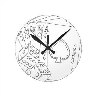 flash royal round clock
