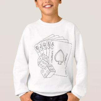 flash royal sweatshirt