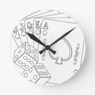 flash royal wall clock
