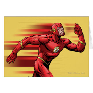 Flash Running Greeting Card