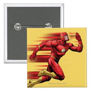 Flash Running Pinback Buttons