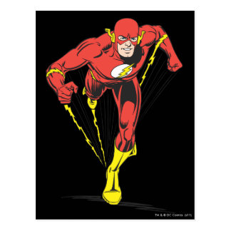 Flash Runs Forward Postcard