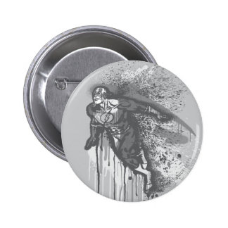 Flash - Twisted Innocence Poster BW 2 Inch Round Button