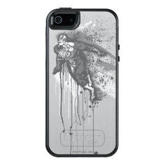 Flash - Twisted Innocence Poster BW OtterBox iPhone 5/5s/SE Case