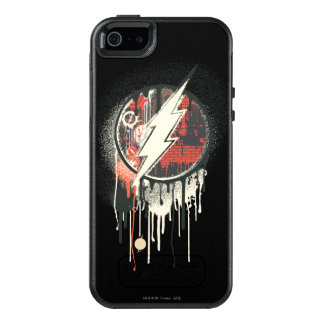 Flash - Twisted Innocence Symbol OtterBox iPhone 5/5s/SE Case