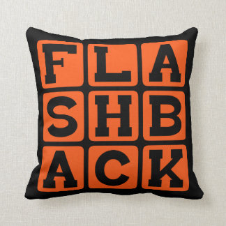 Flashback, Previous Memory Throw Pillow